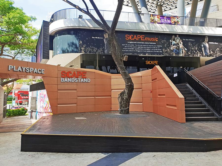 SCAPE Bandstand – *SCAPE Singapore