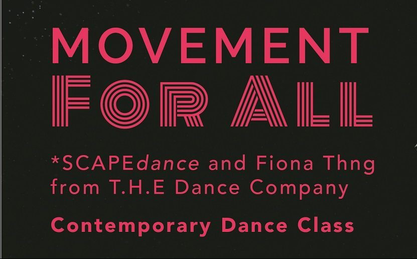 Movement For All Contemporary Dance Class